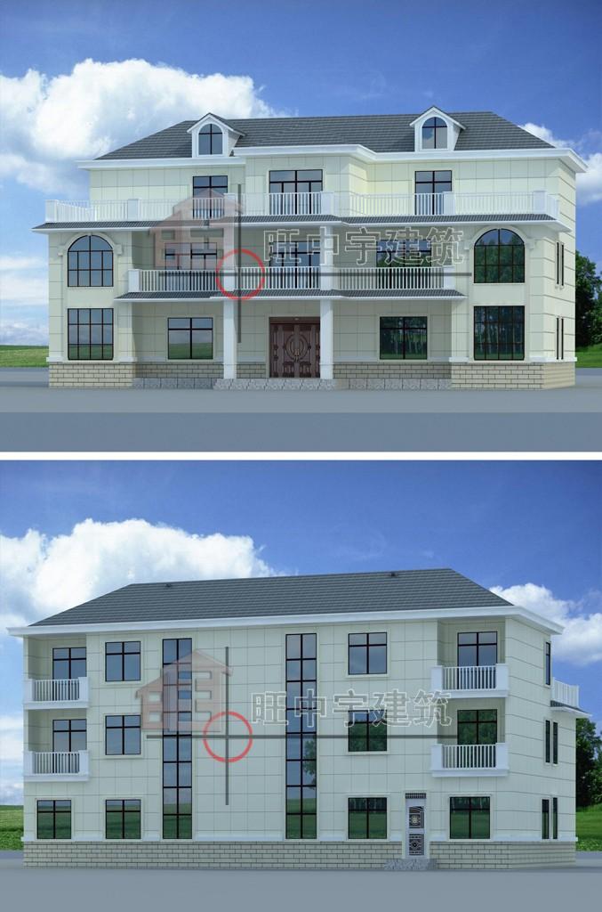 农村联排别墅设计
