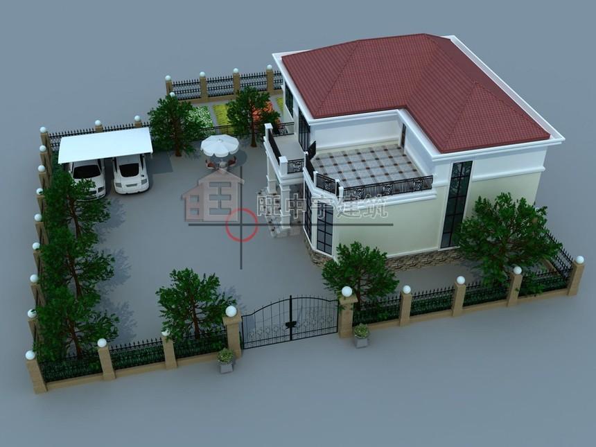 农村二层半别墅设计图