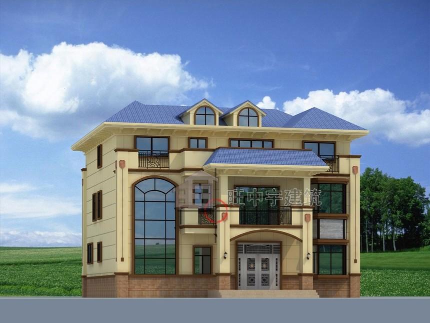 农村别墅自建房设计角度2