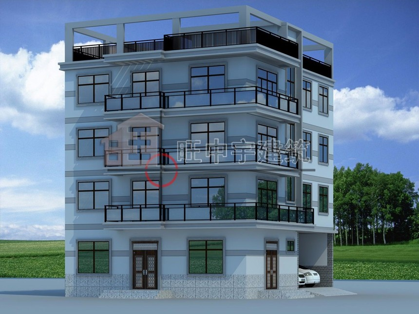 广东现代风格自建别墅设计图