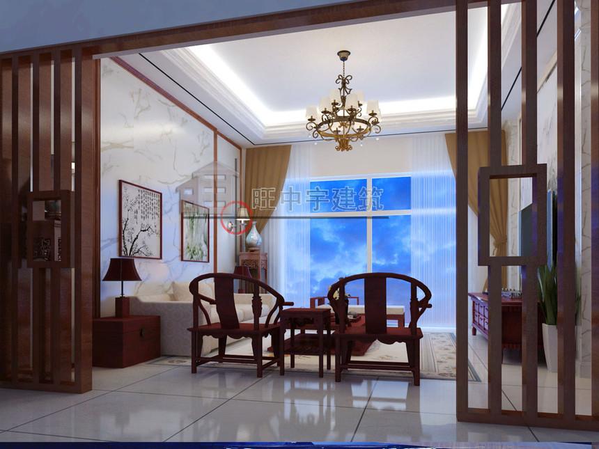 农村别墅二层客厅效果图