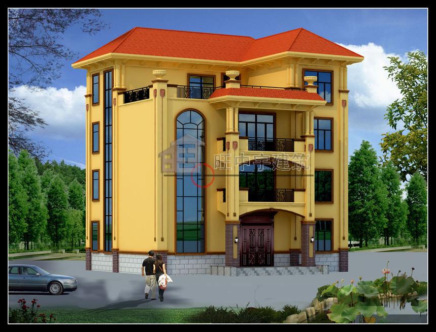农村别墅设计四层效果图