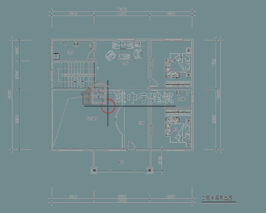 农村别墅设计二层平面图