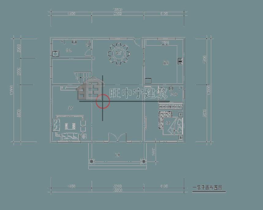 农村别墅设计一层平面图