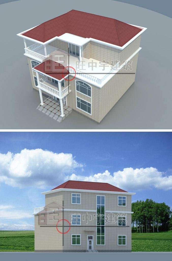 简约风农村别墅设计