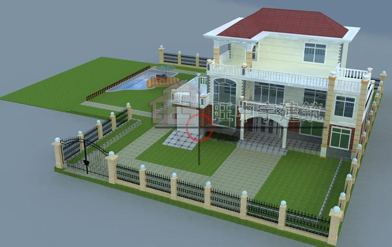 乡村别墅设计图效果图