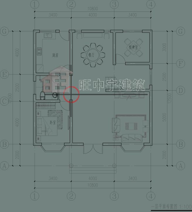 二层田园欧式别墅,小别墅设计图,乡村别墅设计一层平面图