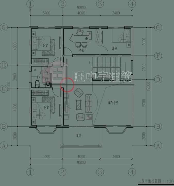 二层田园欧式别墅,小别墅设计图,乡村别墅设计二层平面图