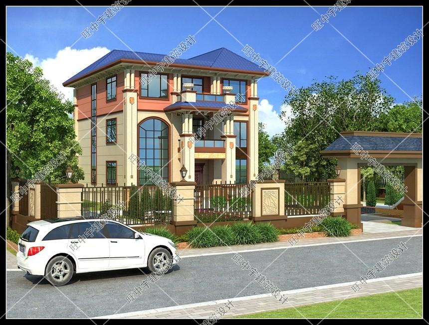 新農村別墅設計三層農村別墅設計