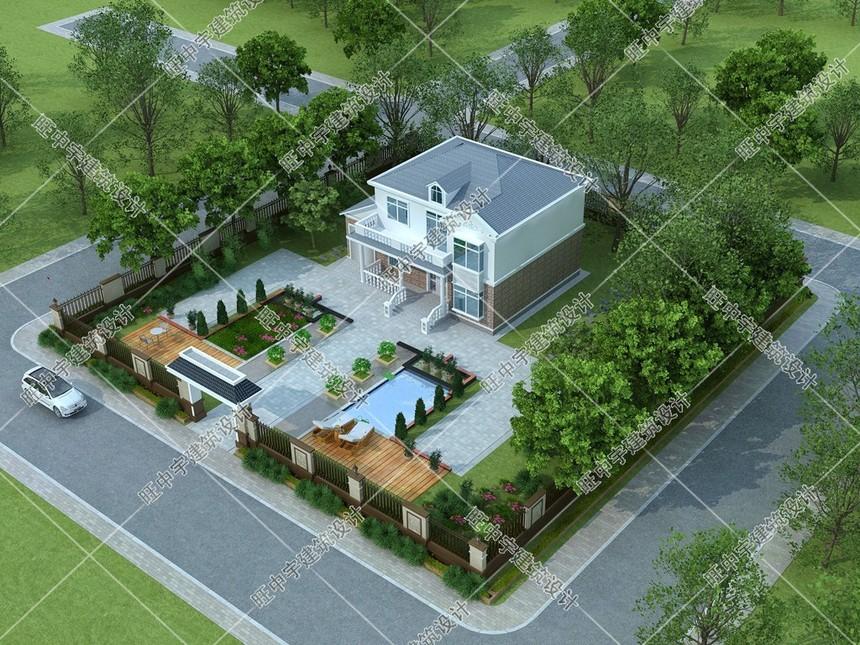 农村别墅自建房设计外观效果图