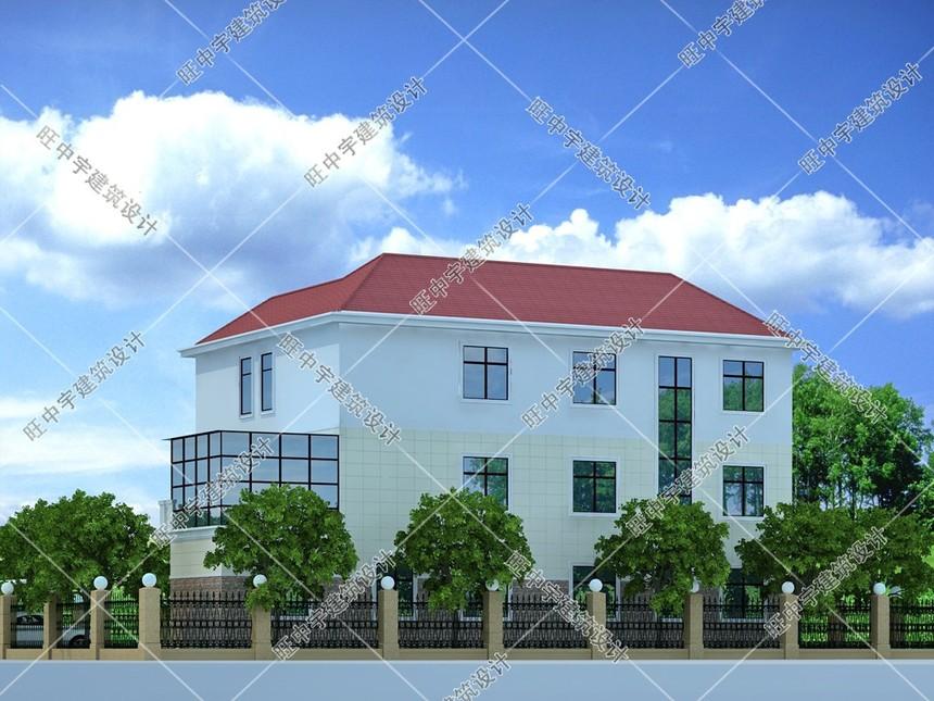 新农村别墅自建房效果图