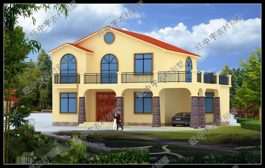 農村別墅自建房設計外觀效果圖