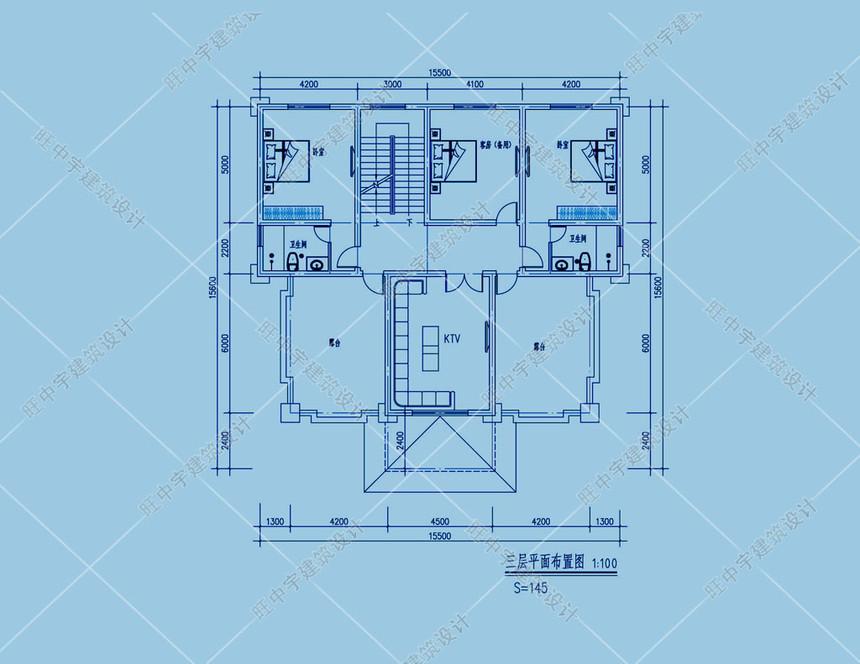 1592454019610754.jpg 農村別墅三層設計圖紙設計三層平面圖
