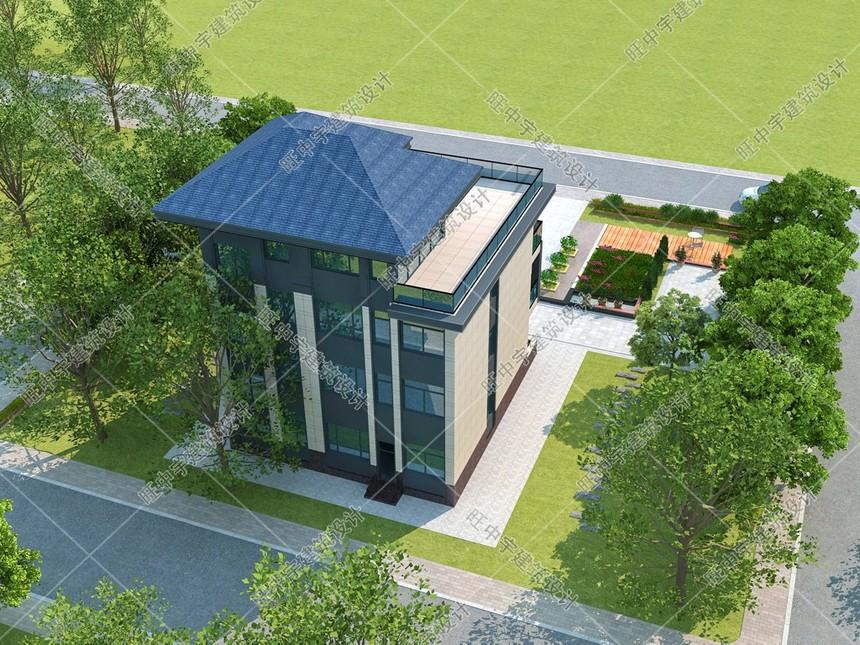 新中式現代款農村別墅設計圖