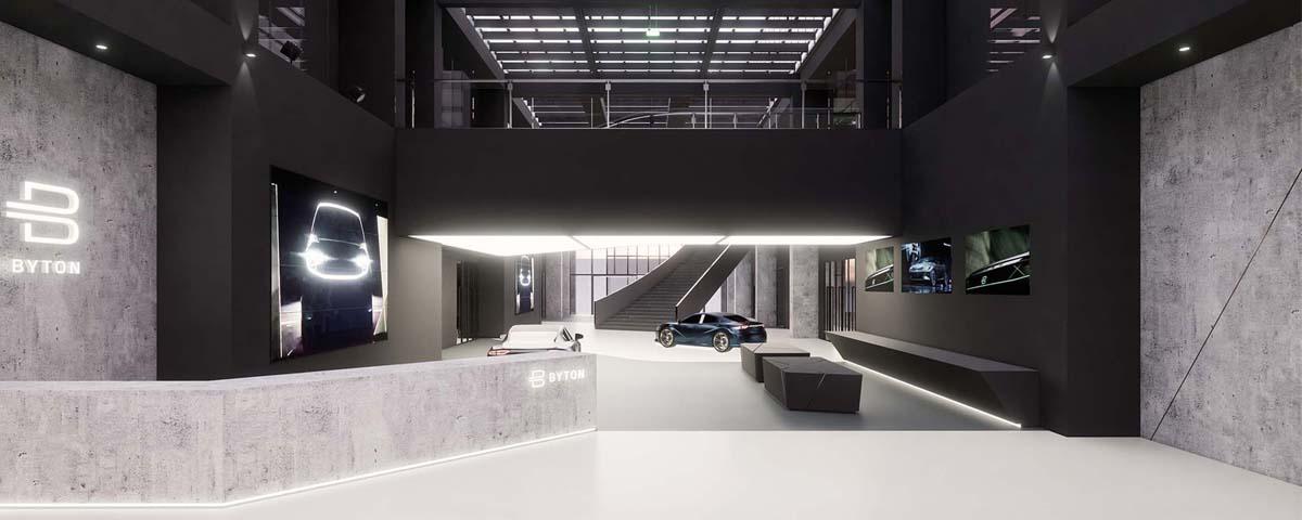 拜腾新能源汽车生产基地办公中心 / 领筑智造