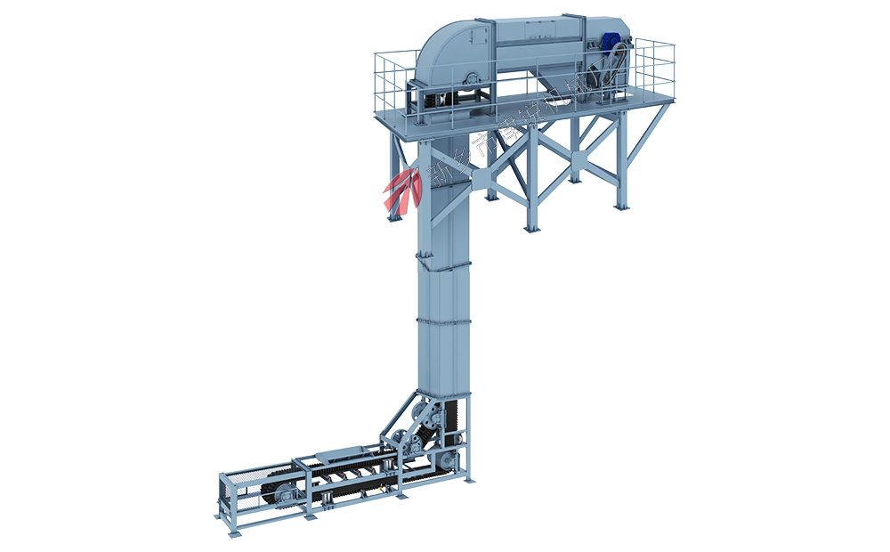 垂直皮带输送机