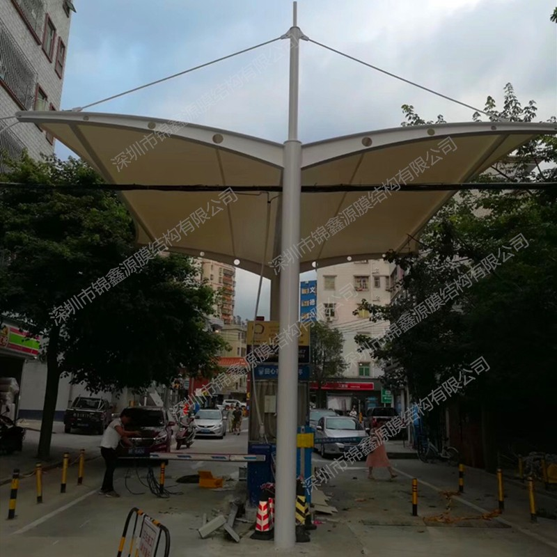 膜结构设计_充气膜结构_膜结构车棚施工_深圳市锦鑫源膜结构有限公司