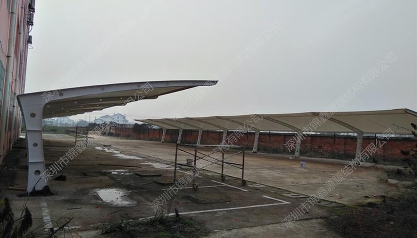 抚州停车棚膜结构