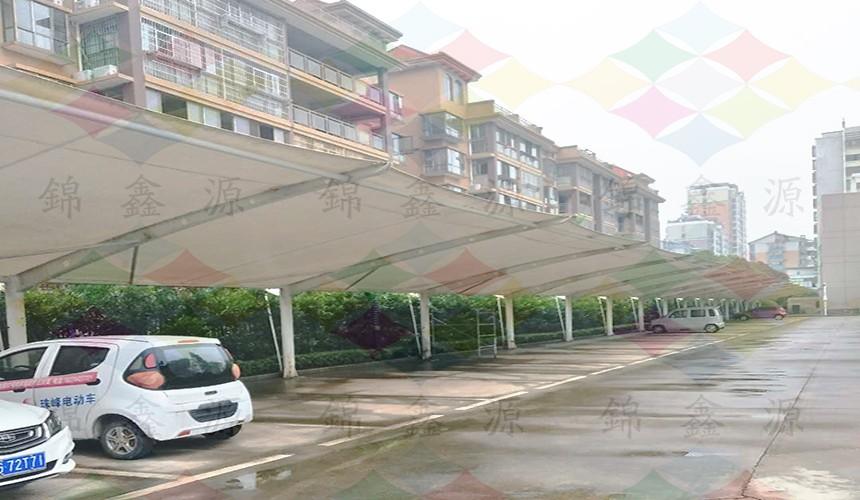膜结构车棚、江西膜结构车篷、膜结构维修