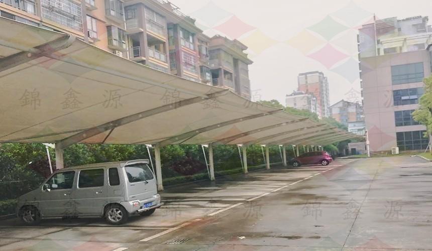抚州膜结构车棚、江西膜结构车棚、膜结构车棚设计