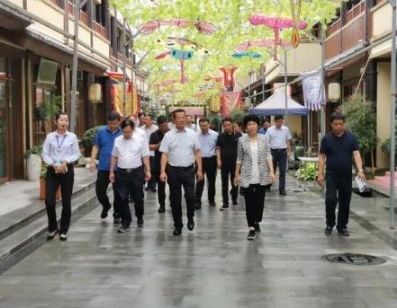 河南省文化和旅游厅对西峡县创建国家全域旅游示范区进行初审验收