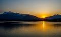 峨眉山日落,李明见摄于5