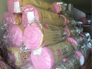 粉红色玻璃棉卷毡价格