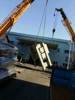 2台25吨吊车吊装设备