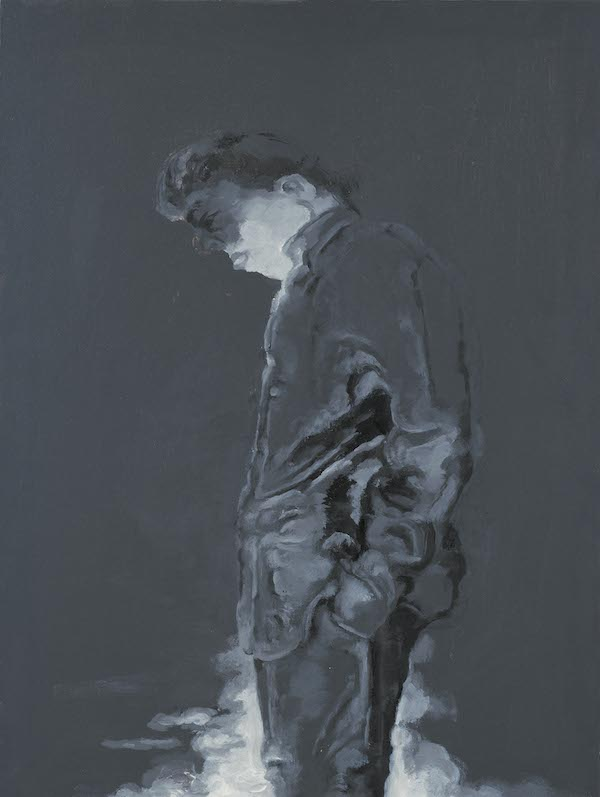 2010 沉思者1 Thinker No.1  80×60cm 布面油画 Oil on Canvas.jpg