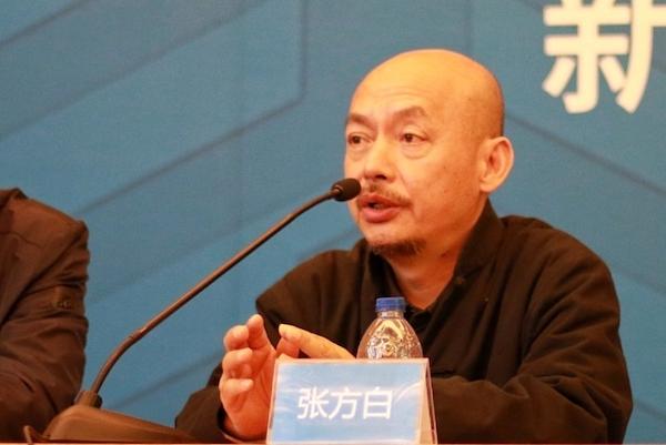 华东师范大学美术学院院长助理张方白发言.jpg