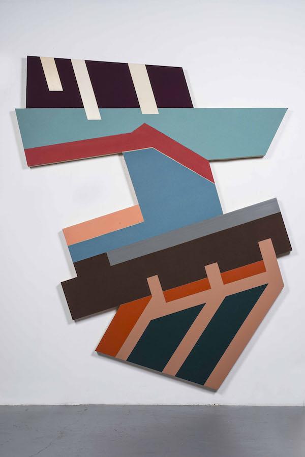 弗兰克·斯特拉,《罗兹季尔I》,1973,? 2019 弗兰克 ? 斯特拉 _ 艺术家权利协会(ARS),纽约.jpg