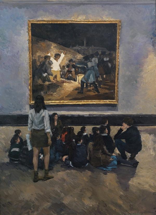 7-1.美育的课堂 200×150cm 2017年 布面油画.jpg