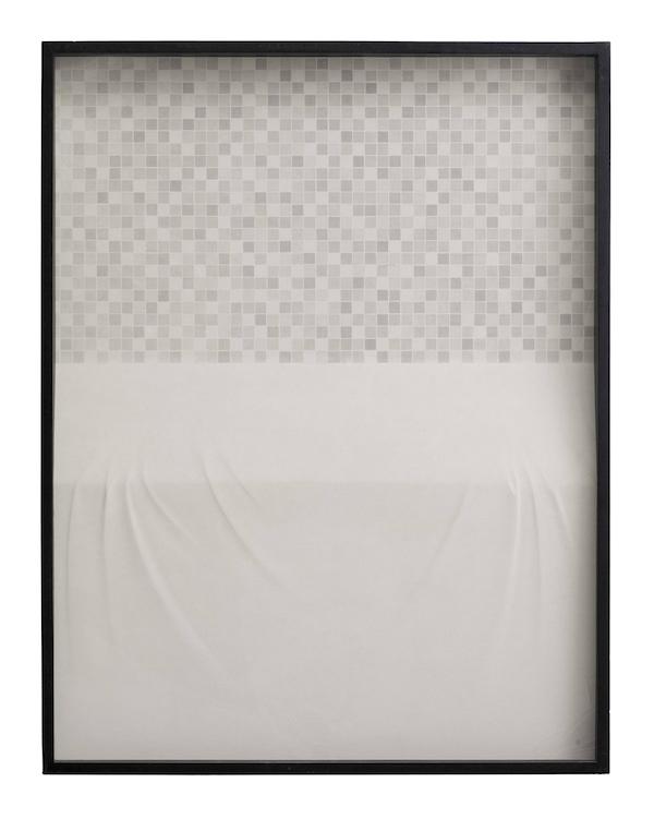 杭春晖 日常系列-白马赛克和白桌面114.5x87cm.jpg