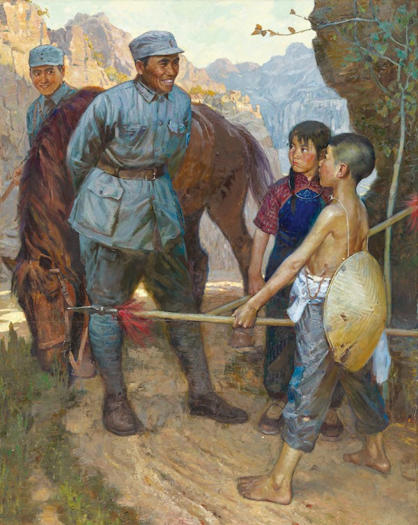路条 147×117cm 1981年  收藏于中国美术馆.jpg
