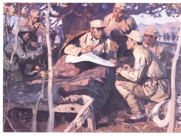 罗荣桓战斗在滨海前线 收藏于中国军事博物馆.jpg