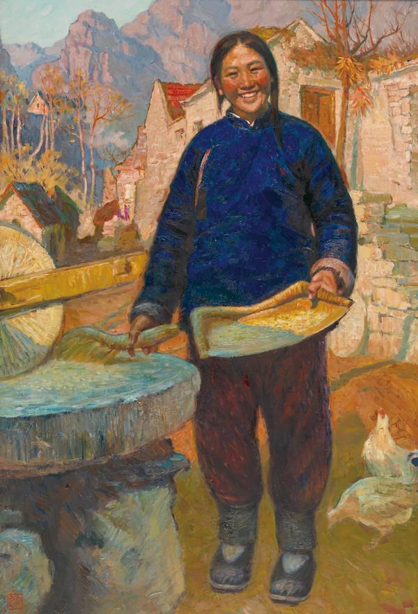 田喜嫂 119×81cm 1981年  收藏于中国美术馆.jpg