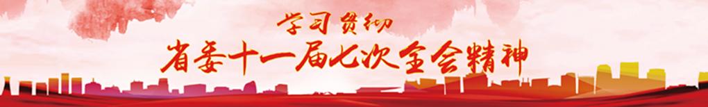 学习贯彻省委十一届七次全会精神