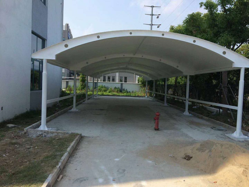 重庆膜结构雨棚