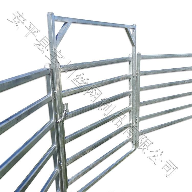 牛栅栏-镀锌牛栅栏-焊接牛栅栏-安平县宝川栅栏公司