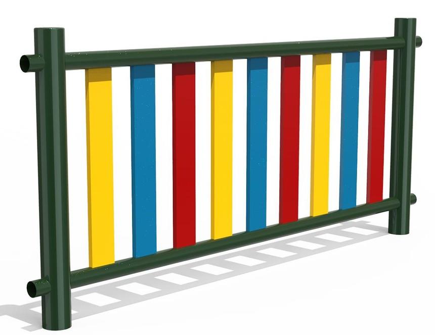 色彩丰富的围墙护栏组装式护栏_安平县宝川丝网制品有限公司