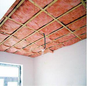 屋顶用红色玻璃棉板