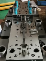 RJ45铜壳五金模具