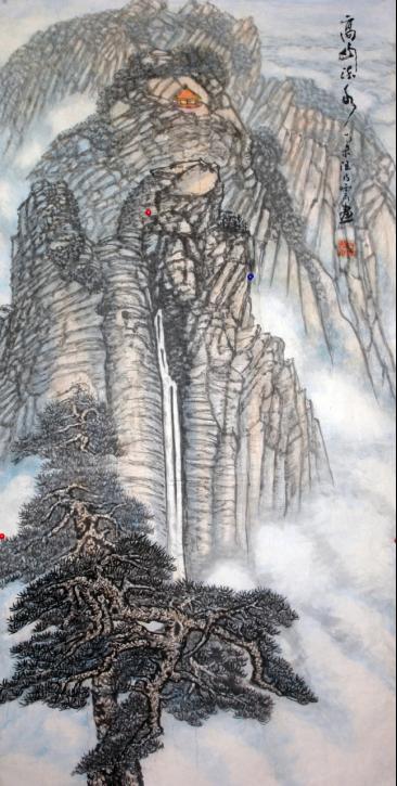 汪天寿――最具影响力人物百家新闻联展之书画(1)695.png