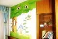 儿童房彩绘实拍000022