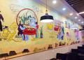 餐厅彩绘4