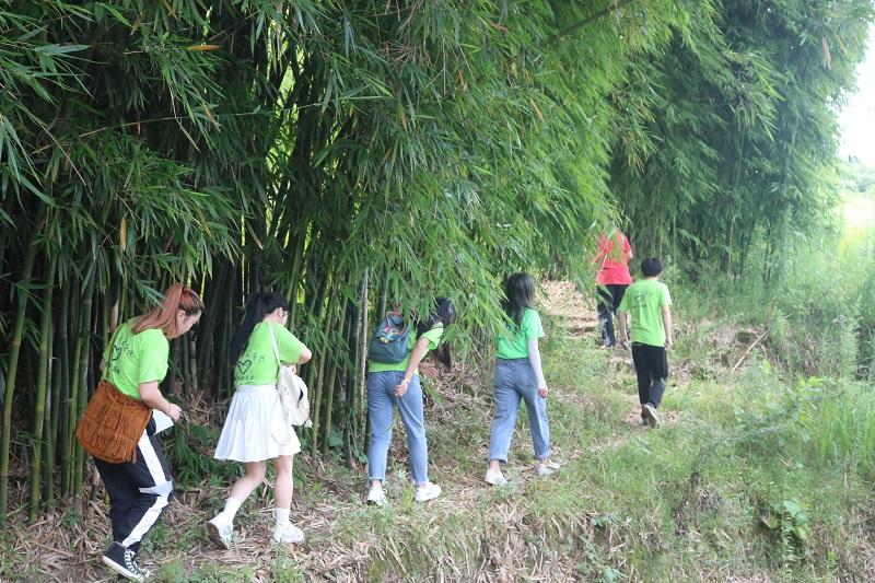 志愿者踏上走访之路.JPG