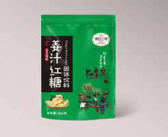 盛世三诚牌姜汁红糖