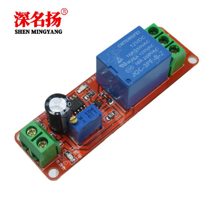 NE555延时模块 单稳态开关 延时通断开关 汽车电器延时
