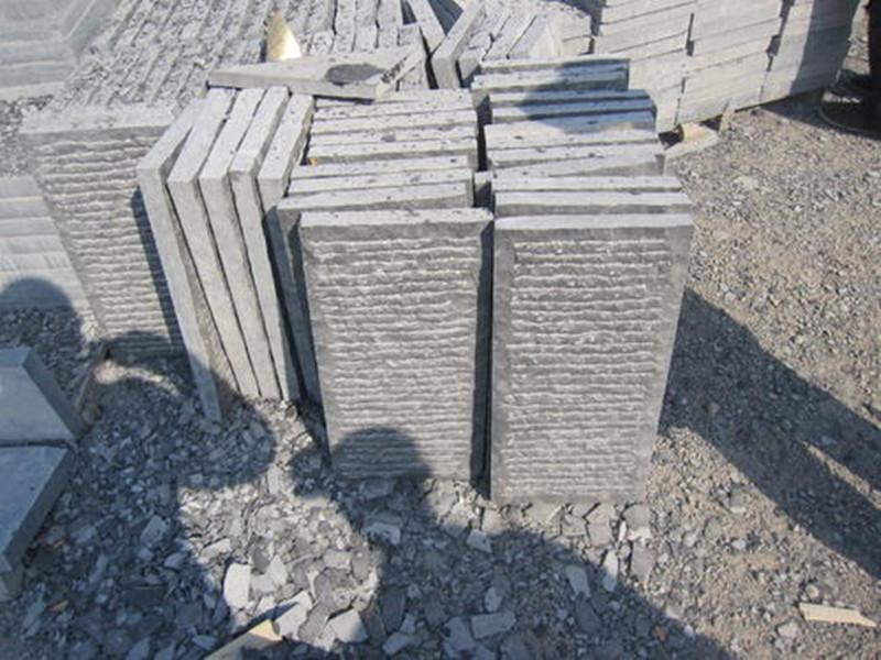 自然面青石板石材