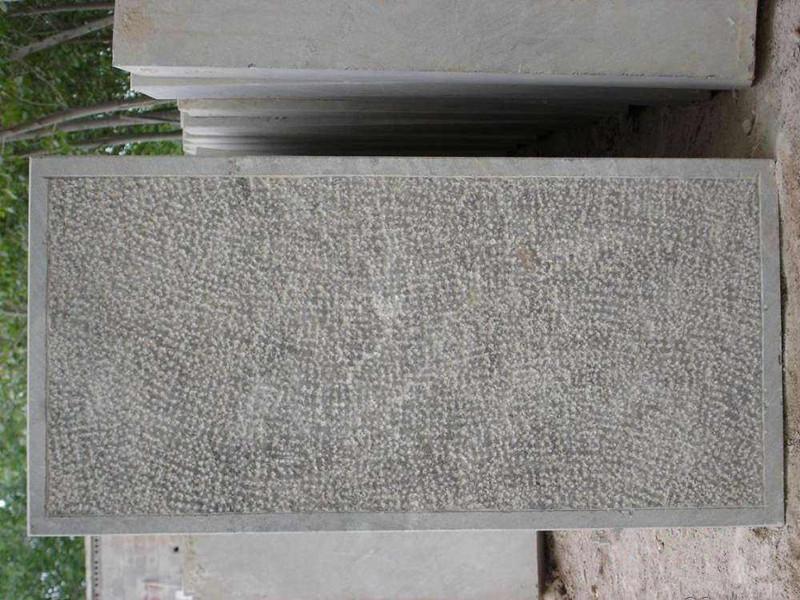 100厚剁斧面青石板